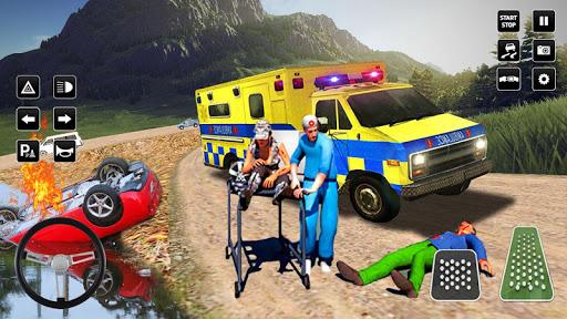 Heli Ambulance Simulator 2020: 3D Flying car games 1.12 screenshots 6