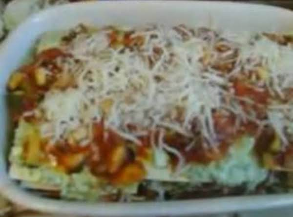 Beef  Lasagna With Zucchini Recipe
