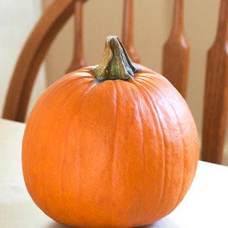 Steamed Pumpkin Puree
