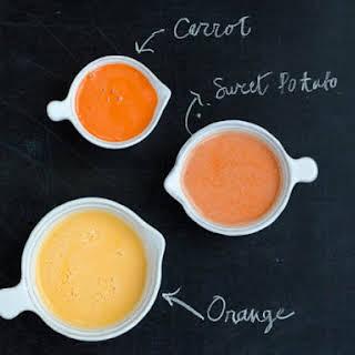 Orange Sweet Potato Juice.