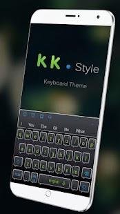 Keyboard Theme for KK - náhled