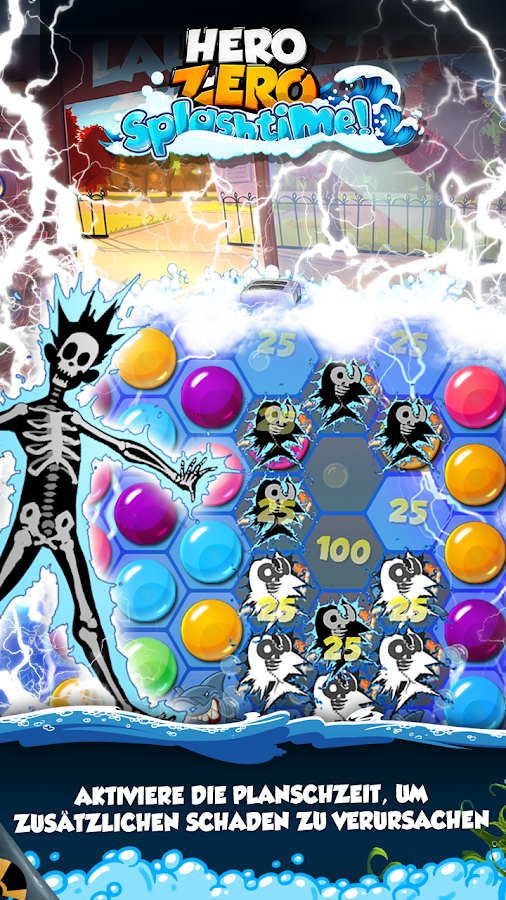 Hero Zero Splashtime - Puzzle – Screenshot