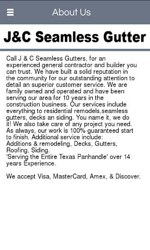 J C Seamless Gutter