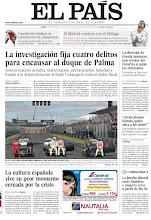 Photo: La investigación fija cuatro delitos para encausar al duque de Palma, la cultura española vive su peor momento cercada por la crisis y una nueva entrega de #nimileuristas, en nuestra portada del 19 de marzo http://cort.as/1jYP