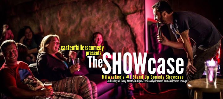 Logo for Comedy Showcase @ Karma Bar and Grill