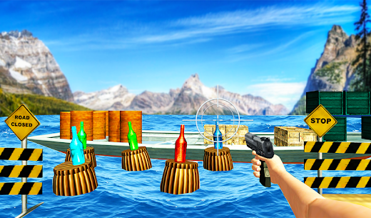 Real Bottle Shooter Game 3