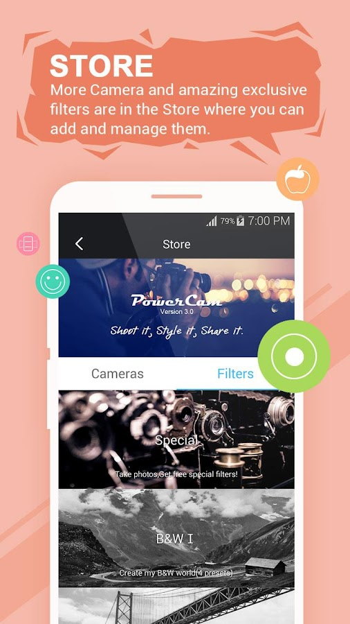 Wondershare PowerCam – Screenshot