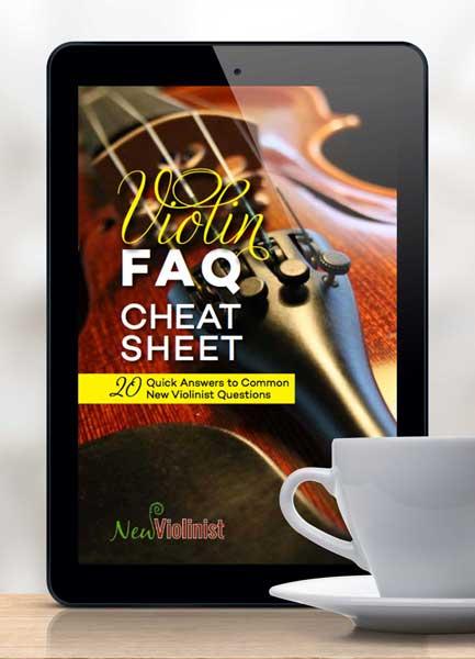 Violin FAQ Cheat Sheet