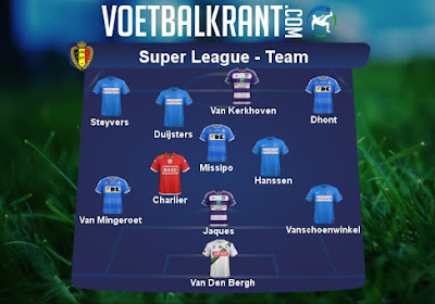 Ons team van speeldag 25 in de Super League: Genk hofleverancier, ook plek voor OHL, Gent, Standard en Anderlecht