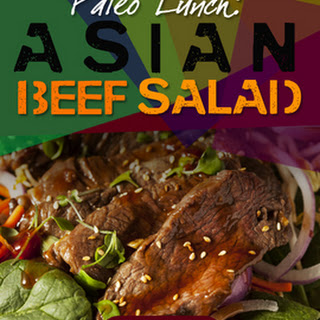 Asian Beef Salad with Sesame Dressing.