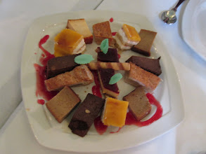 Photo: A typical Spanish dessert tray.