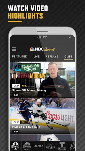 NBC Sports screenshot 3