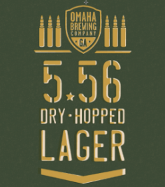 Logo of Omaha 5.56 Dry-Hopped Lager