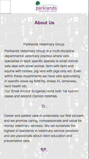 Parklands Vets- screenshot thumbnail