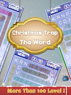 Christmas Trap The Word:Word Puzzle