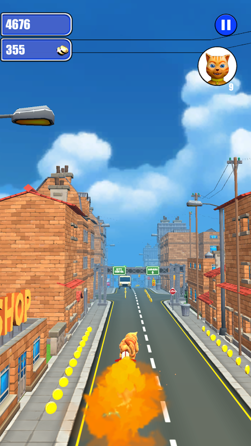Screenshots of Cat Subway Run for iPhone