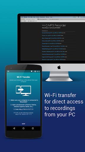 Hi-Q MP3 Voice Recorder (Free) 2.4.1 screenshots 11