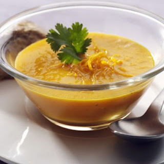 Smooth Carrot Veloute.