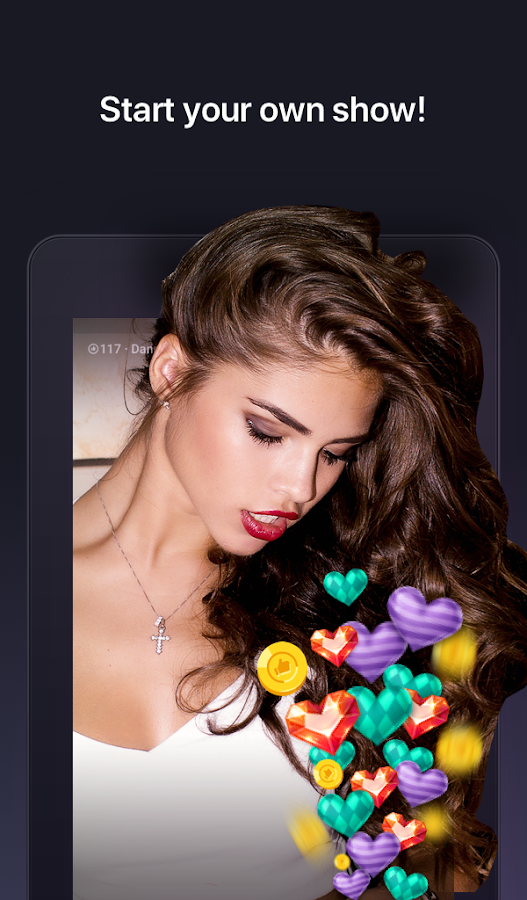 VIGO LIVE - video chat rooms and dating service- screenshot