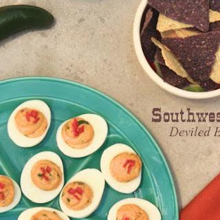 Best Deviled Eggs Southwestern Style