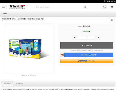 Shop Viatek Products- screenshot thumbnail