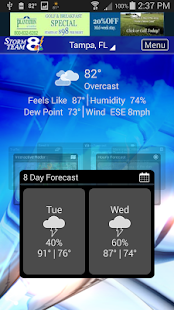Storm Team 8 Weather MAX- screenshot thumbnail