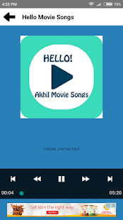 Hello - Akhil Movie Songs - náhled