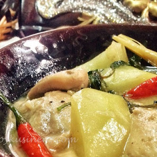 Chicken Halang Halang (Visayan Spicy Chicken Stewed in Coconut Milk)