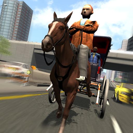 模擬App|ホースキャリッジ人間輸送 LOGO-3C達人阿輝的APP