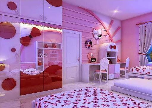 Child's bedroom design