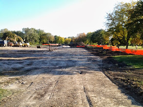 Photo: Water Main Installation Complete 10-1-2013