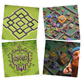 Maps for Clash of Clans - Town Hall & Builder Hall