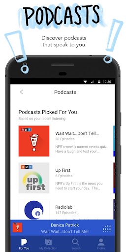 Pandora - Streaming Music, Radio & Podcasts Screen Shot