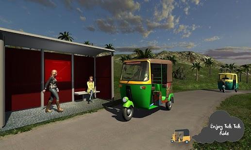Tuk Tuk Offroad Rickshaw Drive - náhled