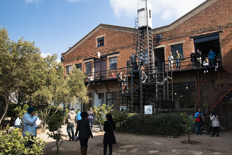 Arts on Main in Maboneng is home of a popular weekly food and design market.