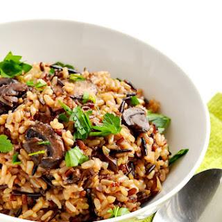 Instant Pot Brown Rice Pilaf.