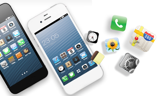 Free Theme for iphone 6S ios launcher 1.0.4 screenshots 6