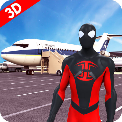 City Airport Flying Spider Hero Flights 3D (game)