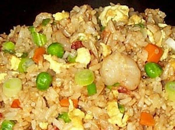 Delicious Shrimp Fried Rice Will Be A Hit With Your Family.