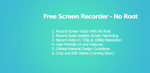 Free Screen Recorder No Root - Record Screen HD - Apps on Google Play