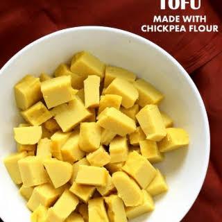 Chickpea Flour Tofu.