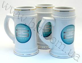Photo: Пивные кружки к 25-летнему юбилею системы  имплантатов ANKYLOS. Полноцветная печать по керамике