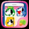 (FREE) GO SMS FUNNYDOG STICKER icon