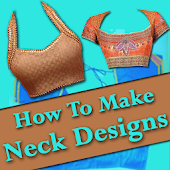 NECK Designs 2018 : How to Cut & Stitch Neck Video