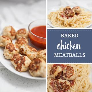 Baked Chicken Meatballs Recipe