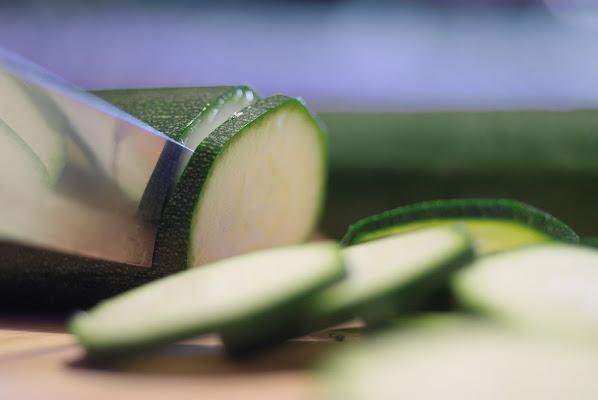 Preparando le zucchine di -Os-