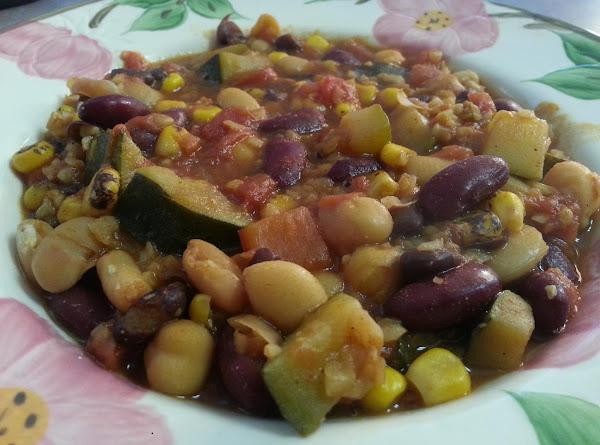 Bulgur Bean Chili Recipe