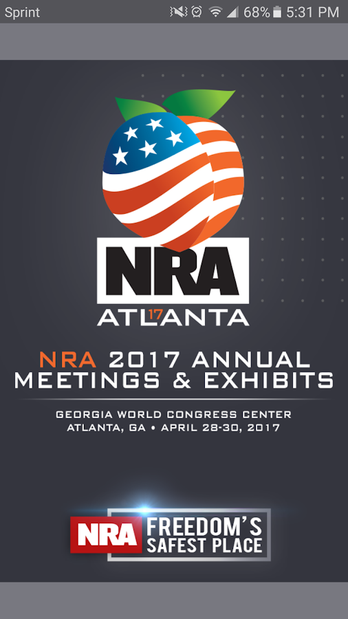 2017 NRA AM & Exhibits- screenshot