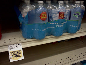 Photo: We got a great deal on the water!