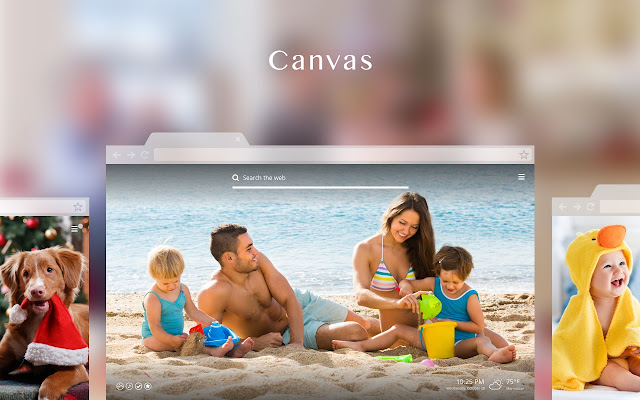 Canvas New Tab